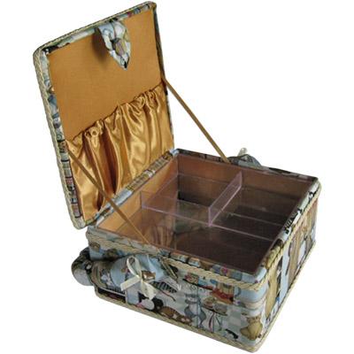 Сделать коробок для швейных принадлежностей